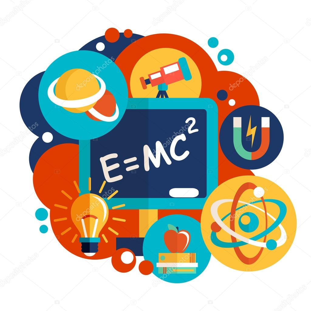 Science Physics From: Stock Vector © Macrovector