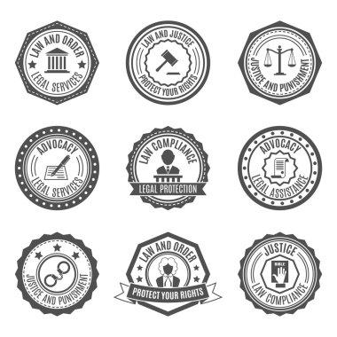 Law labels set