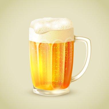 Mug of beer emblem