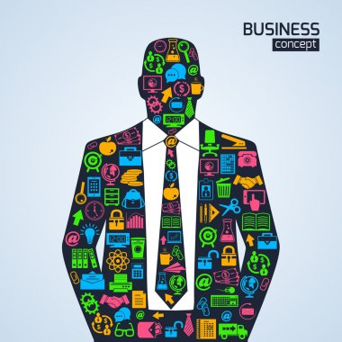Business concept icons person