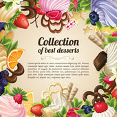 cukroví dezert rámec