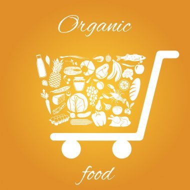 Organic food cart