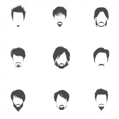 Man hair style set