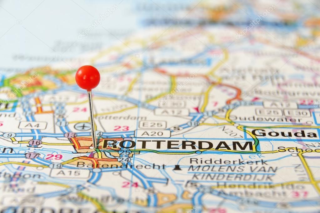 Rotterdam Map Stock Photo C A40757 39925441