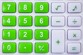 tlačítka kalkulačky