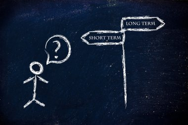 business choices: short or long term, which is the priority?