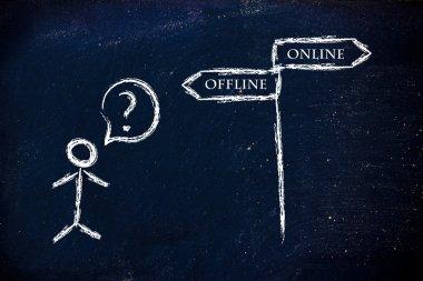 Online or offline marketing?