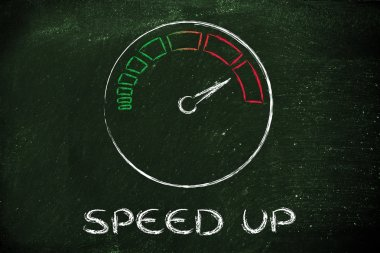 speedometer and fast success: speed up