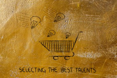 Selectiong the best talents