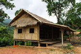 Photo Village house in countryside , Thailand