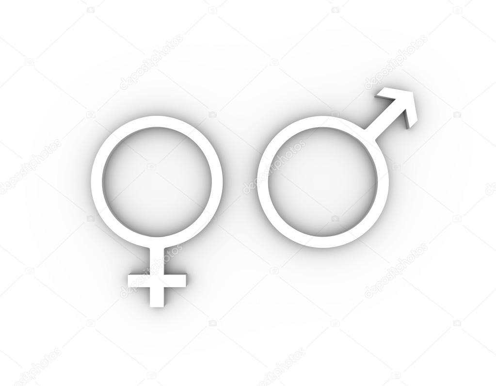 Female and male gender symbols in white stock photo female and male gender symbols in white stock photo buycottarizona