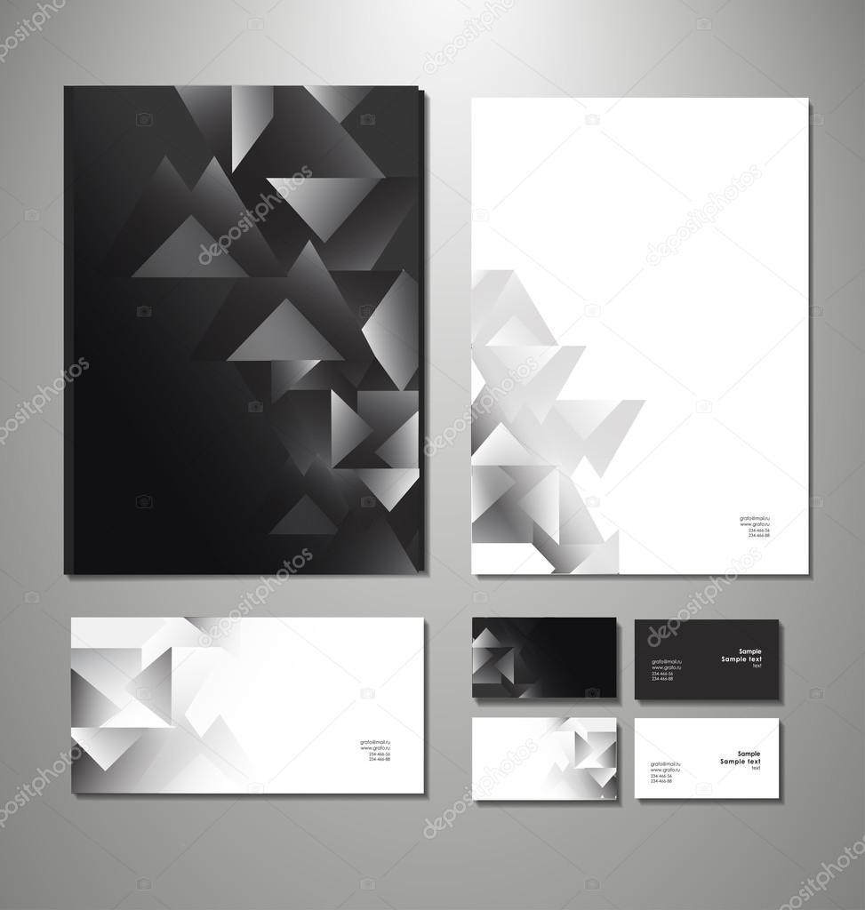 business set. Vector illustration