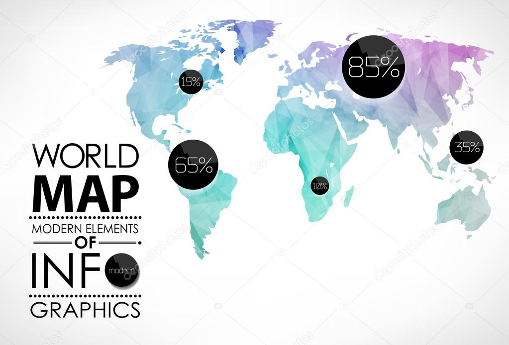 world map card stock vector merfin 41594577