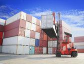 Vysokozdvižný vozík manipulační box kontejner