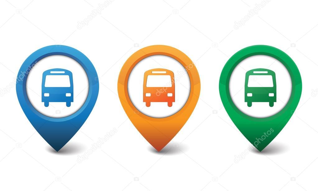 Bus icon vector illustration