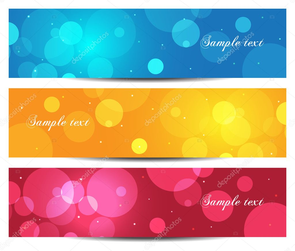 Christmas holiday banner background illustration