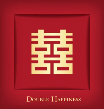 Chinese Shuang Xi (Double Happiness) background