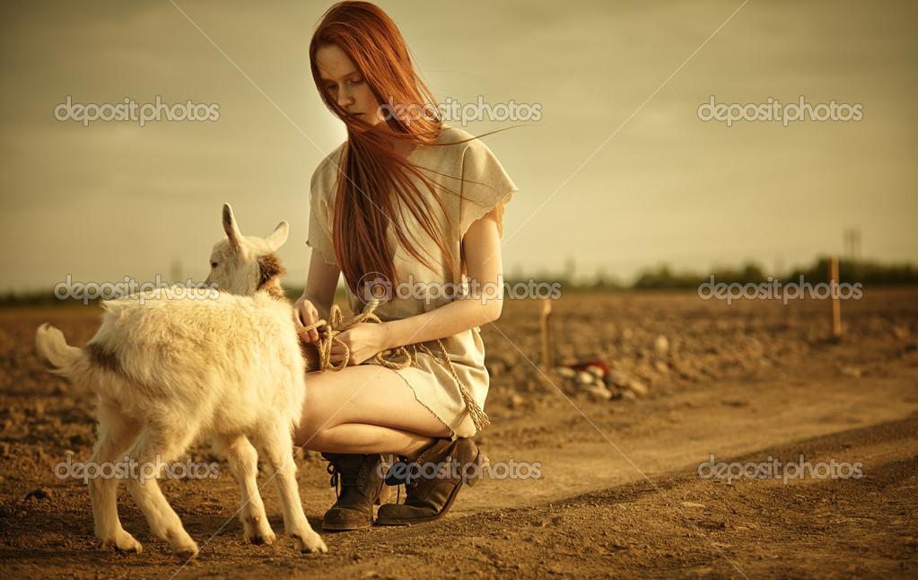 randí s kozlíkem