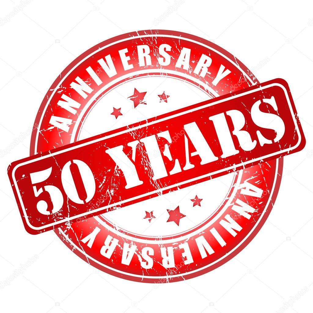 stempel 50 jaar 50 jaar verjaardag stempel — Stockvector © GalaStudio #36097833 stempel 50 jaar