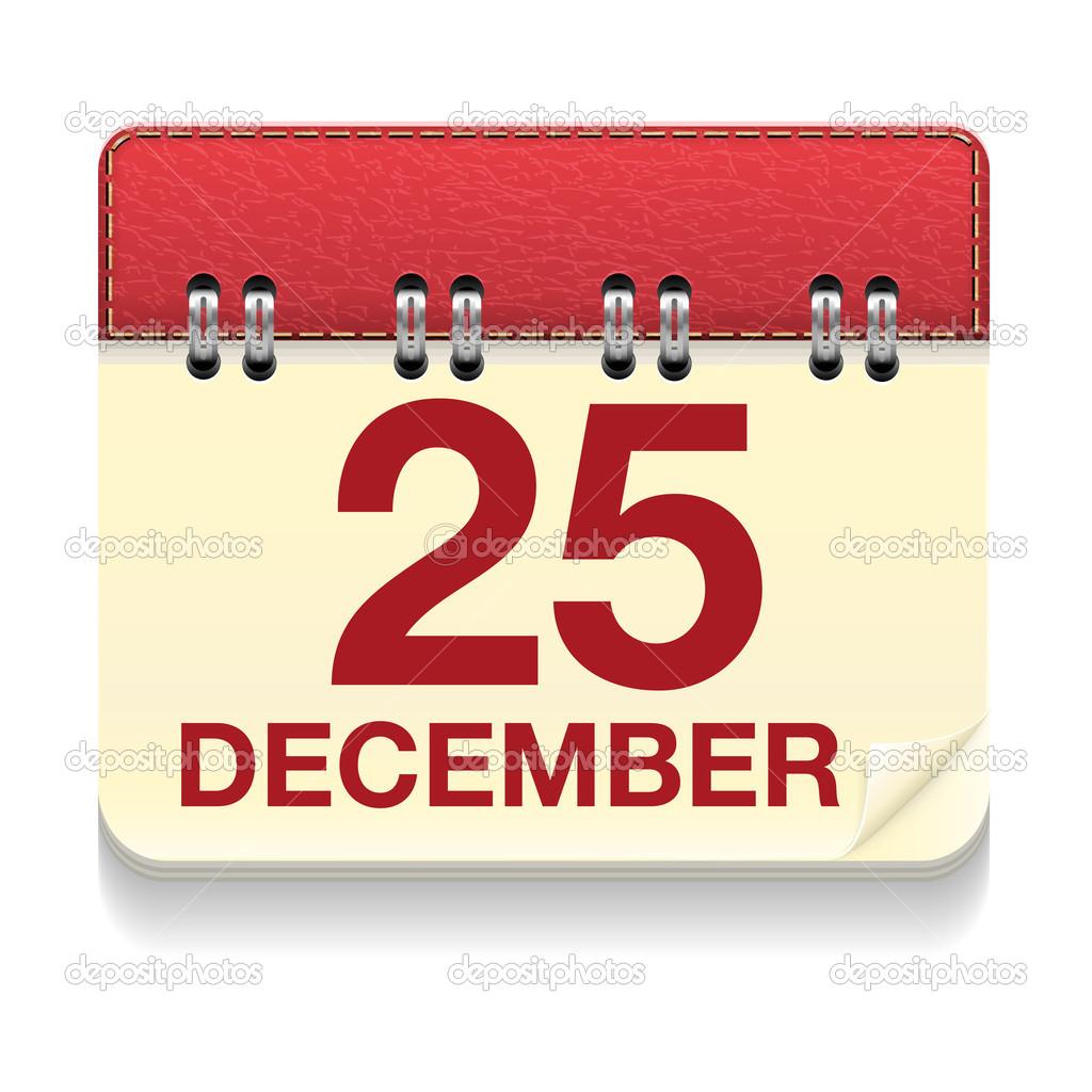 クリスマスの日カレンダーのアイ...