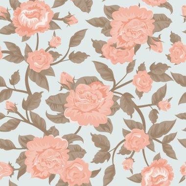 Shabby chic flower background