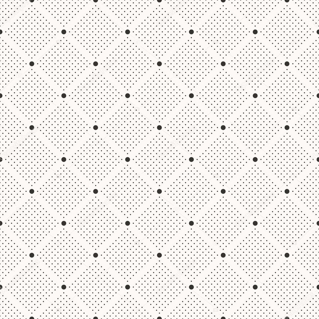 Seamless dots pattern.