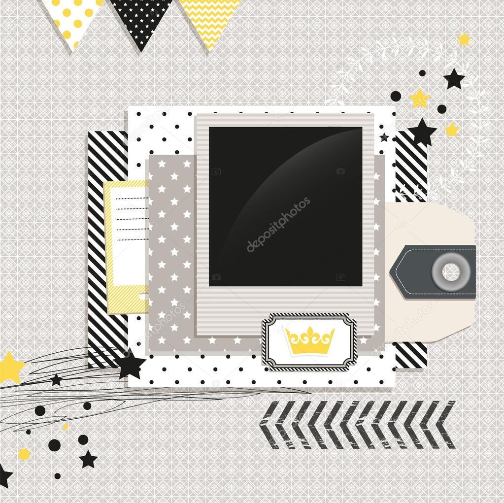 moderne Design-Elemente — Stockvektor © lechernina #35791565