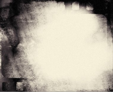 Blank grained film strip grunge black and white texture