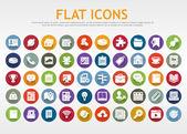 Fotografie Flat icons