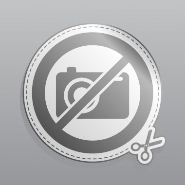 No photo sticker
