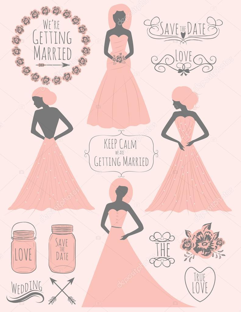 imágenes prediseñadas de boda con vestido de novia color turquesa en ...
