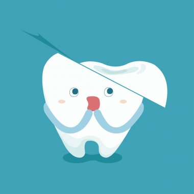 Tooth feel frighten because broken tooth