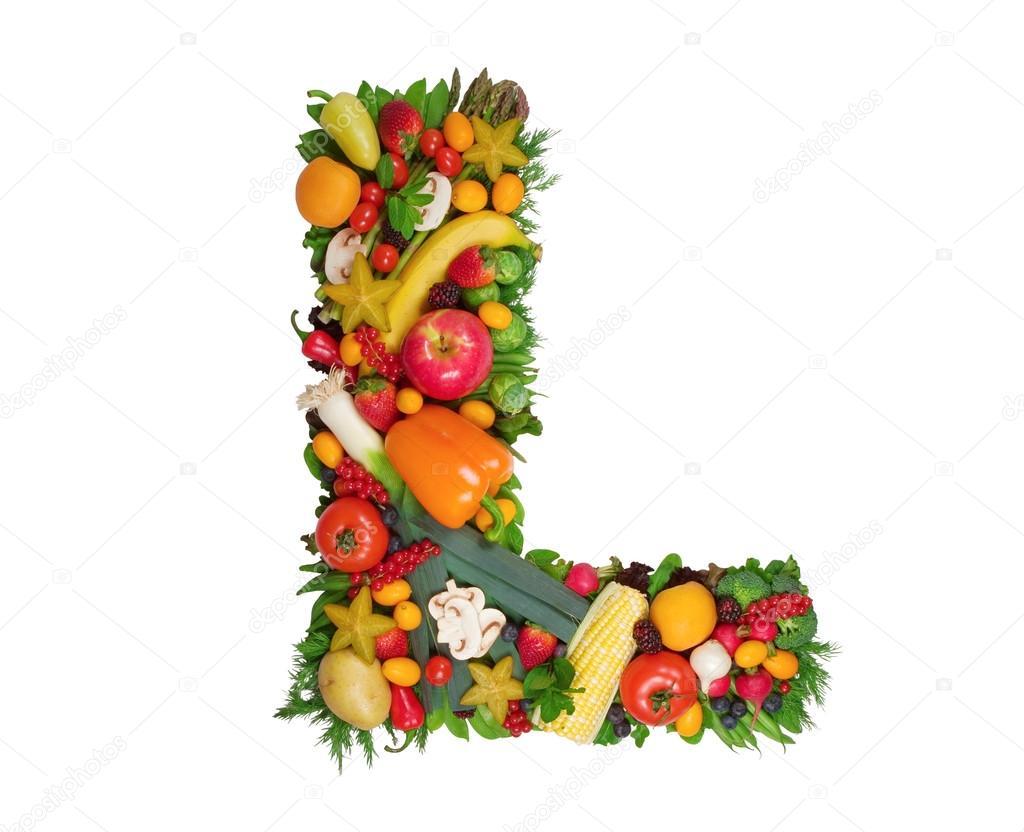Alphabet of health — Stock © og vision