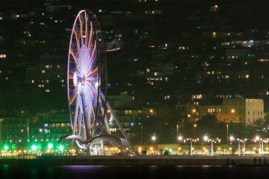 Boulevard in Baku