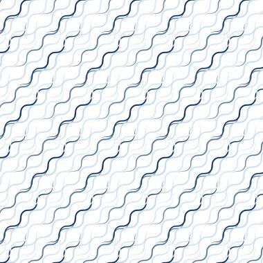Waved line pattern