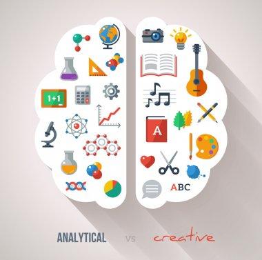 Creative Brain Idea.