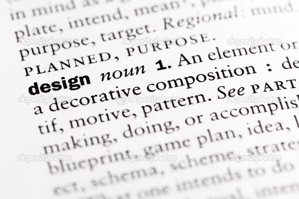 Dictionary definition of design noun fotos de stock dictionary definition of malvernweather Choice Image