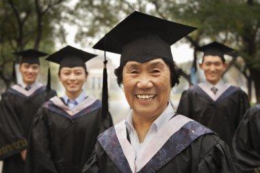 Professor and Graduates