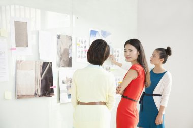 Businesswomen Working in Creative Office