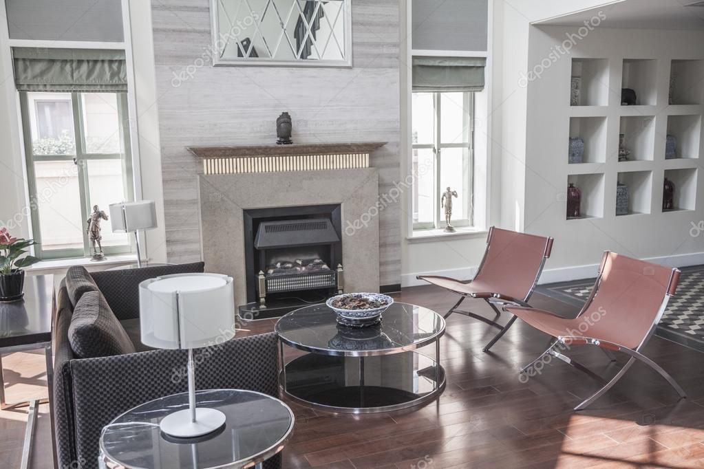 Lichte Luchtige Woonkamer : Lichte luchtige moderne woonkamer u stockfoto xixinxing
