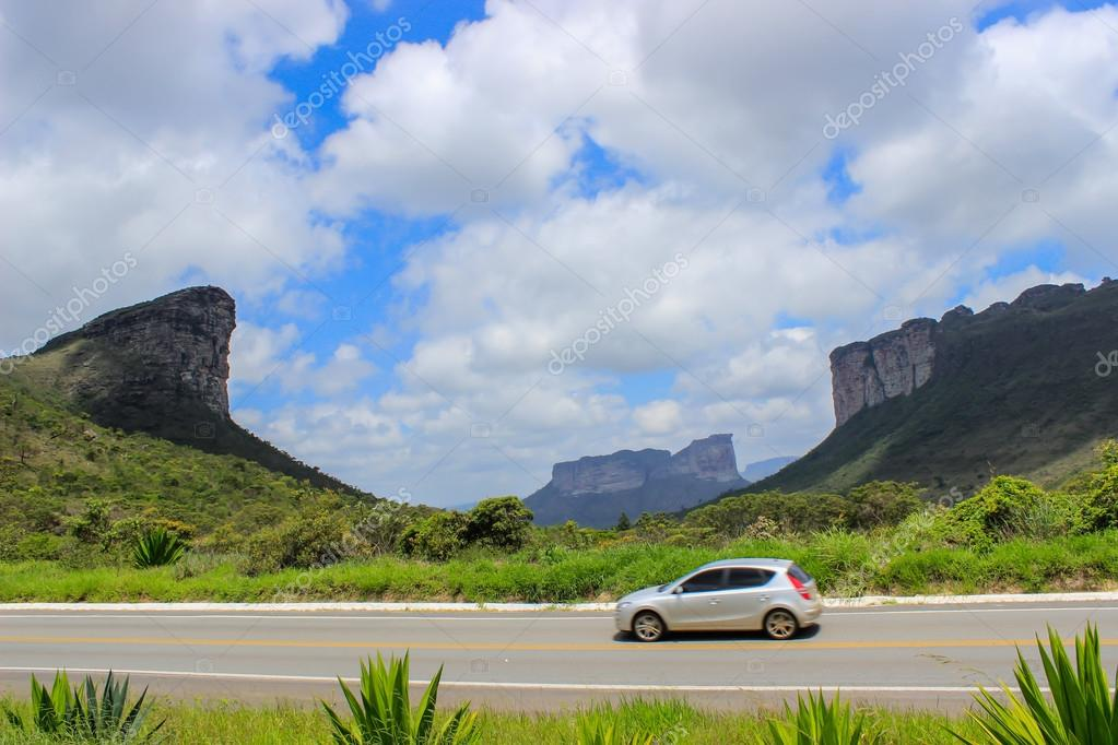 Chapada Diamantina, Valley and mountains