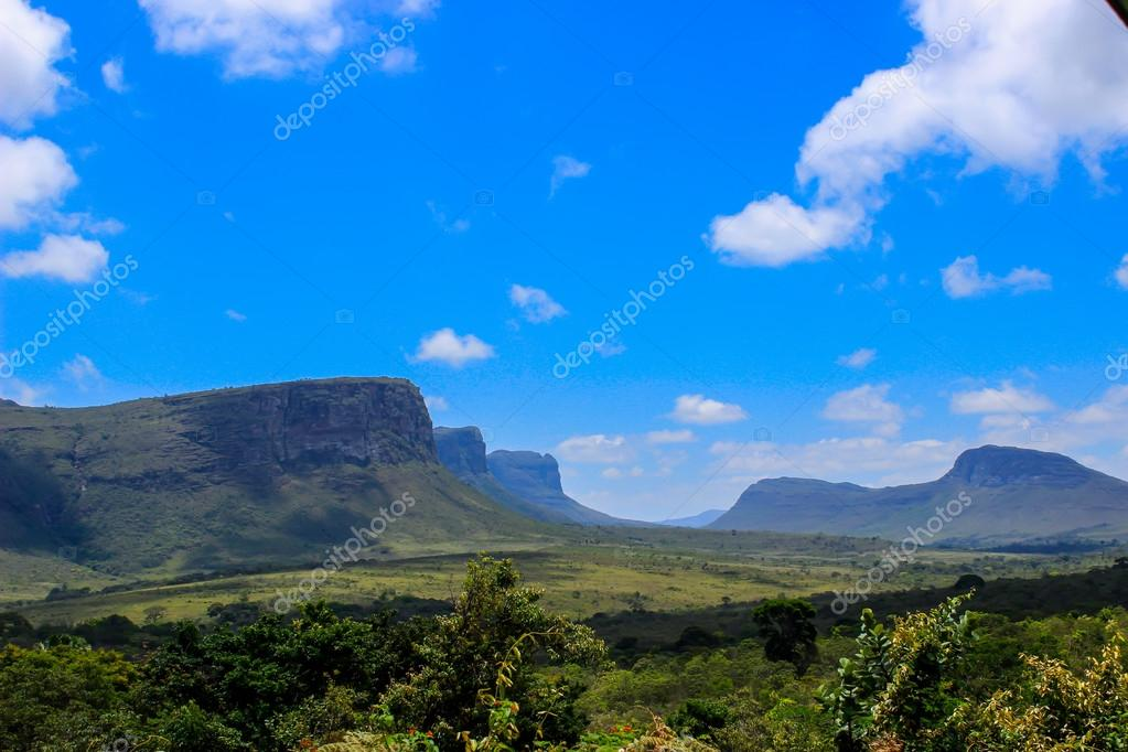 Mountains in Chapada Diamantina