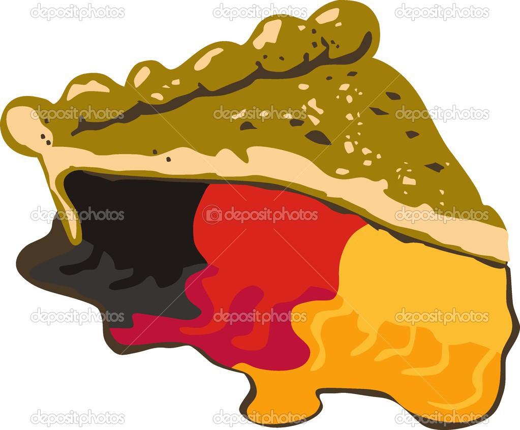 Kuchen Flagge Deutschlands Stockvektor C Halimqd 43375415