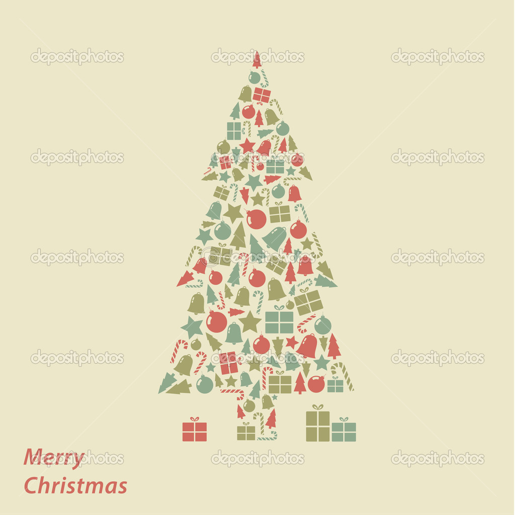 Vector christmas card modern christmas square background in fre vector christmas card modern christmas square background in fre stock vector m4hsunfo