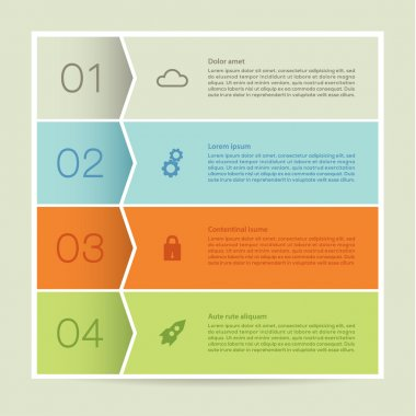 Vector abstract mosaic background. Infographic template with pla