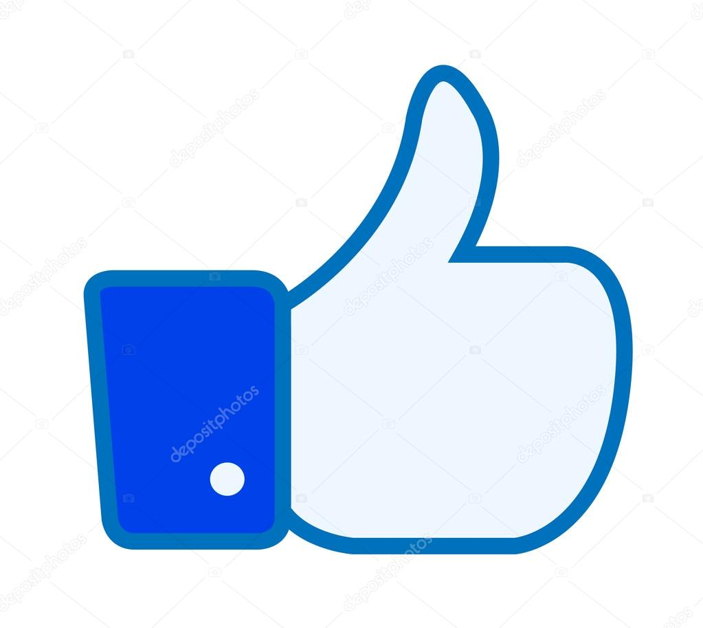 Facebook like thumbs up button symbol icon sign vector facebook like thumbs up button symbol icon sign vector illustration stock vector buycottarizona Choice Image