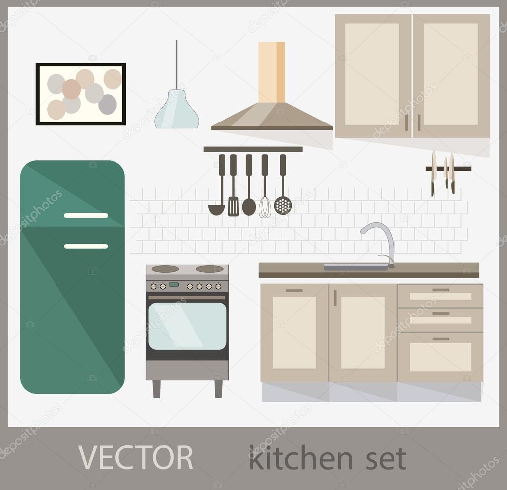 Set muebles de cocina obtenga ideas dise o de muebles for Stock de muebles