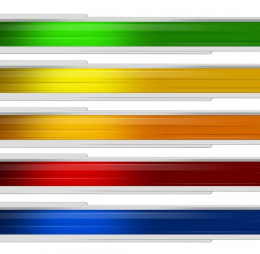Banner multicolor