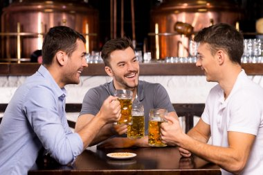 Spending time in bar