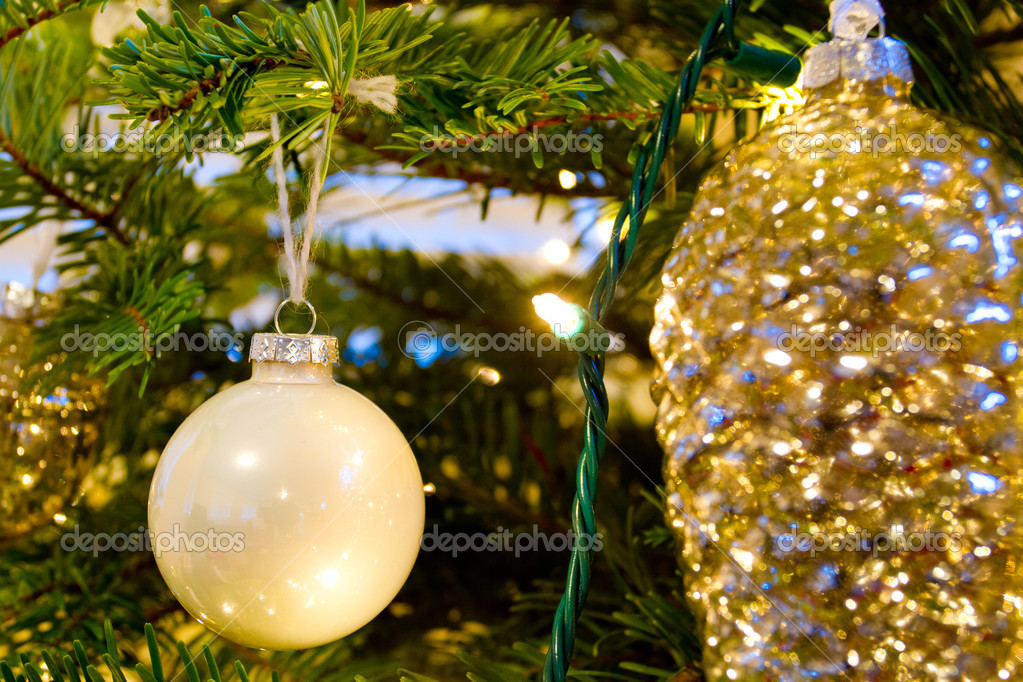 Elegant Christmas Ornaments.Elegant Christmas Ornaments Stock Photo C Joshuarainey